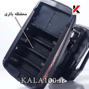 محفظه و محل قرار گیری باتری رادیو کنترل ماشین کنترلی ارسی L959