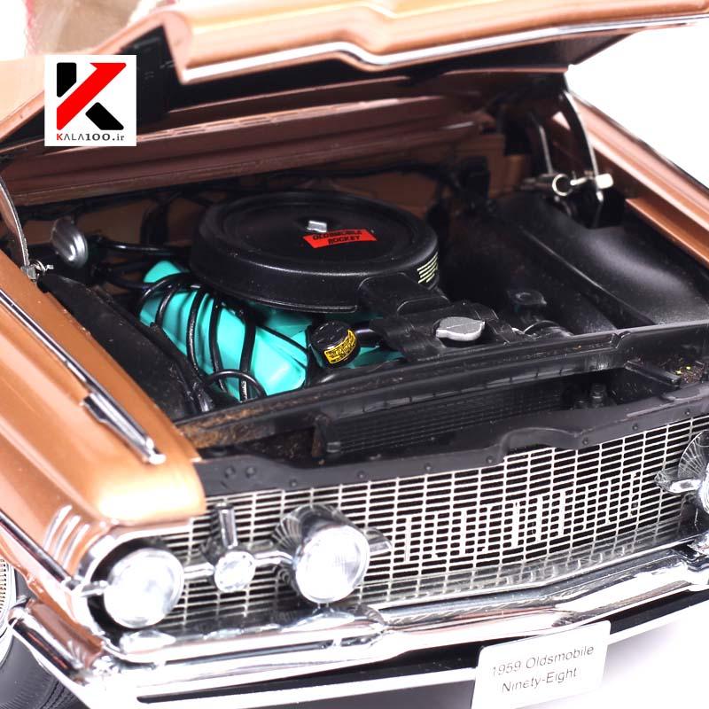 انجین ماکت ماشین آمریکایی اولدز موبیل 1959