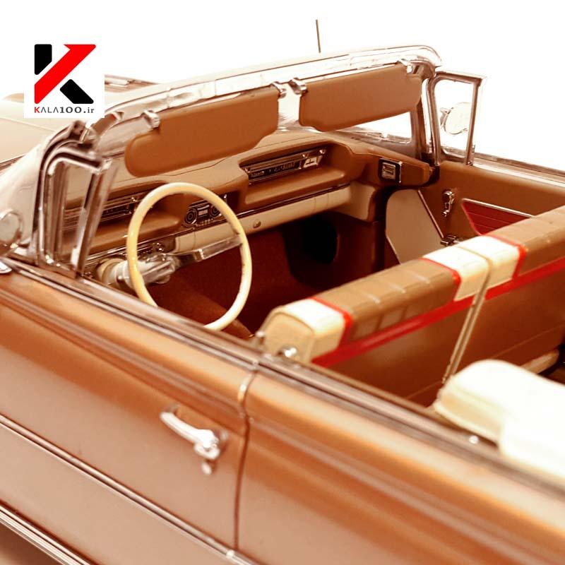 جزییات دقیق و بخش های داخلی ماکت ماشین آمریکایی اولدز موبیل مشابه نمونه واقعی