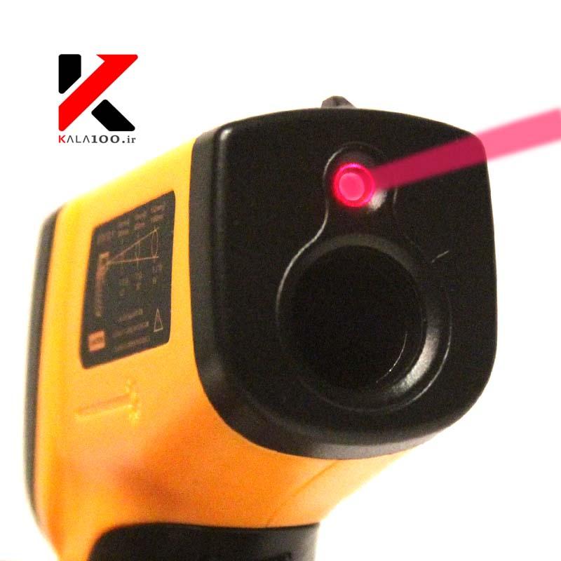 دماسنج لیزری ترمومتر دیجیتال مدل GM320 Laser Infrared Thermometer
