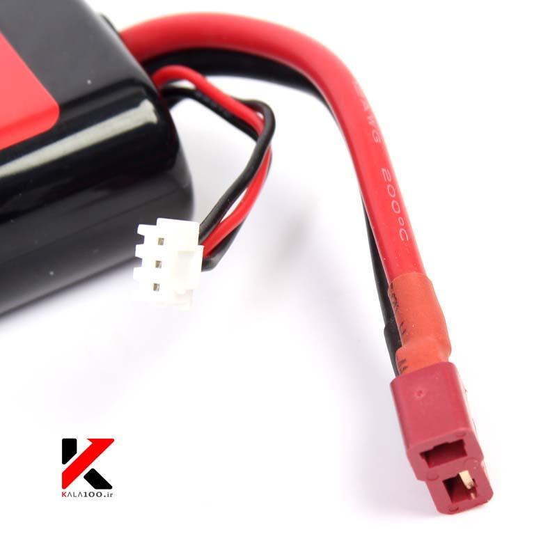 سوکت شارژ و پاور باتری لیتیوم پلیمر پاور پلنت
