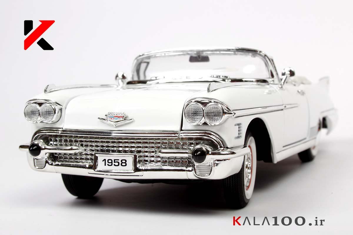 ماکت ماشین آمریکایی کادیلاک الدورادو مدل 1958