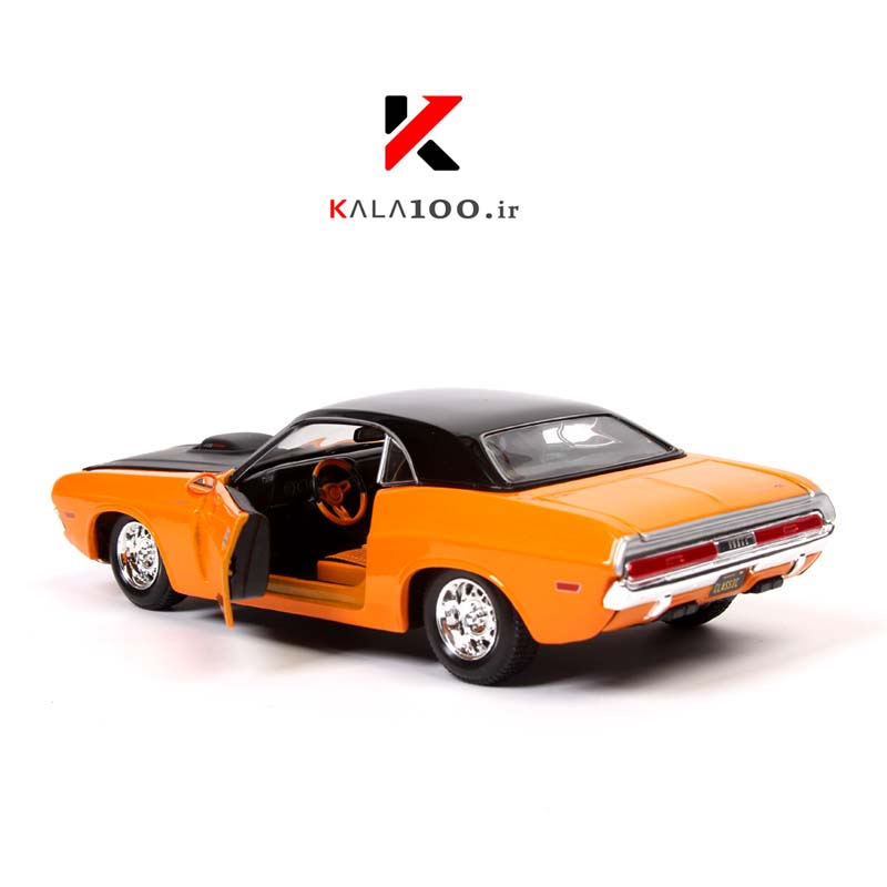 Diecast Model Car Dodge ماکت دوج 1970