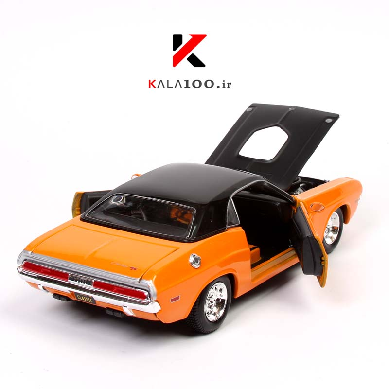 Dodge Challenger Die Cast Model Car 1970