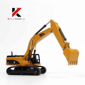 ماکت بیل مکانیکی HY Diecast Excavator