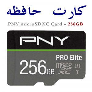 مموری کارت گوشی و دوربین PNY 256GB