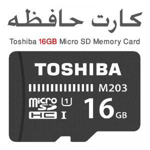 مموری کارت 16 گیگ توشیبا MicroSD