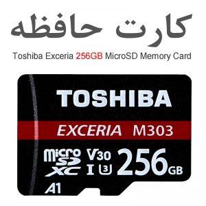 کارت حافظه توشیبا اکسریا 256 گیگ