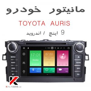 Toyota Auris DVD GPS Android Touch Screen in Iran