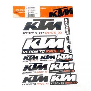 یدکی موتورسنگین برچسب استیکر موتورسیکلت KTM
