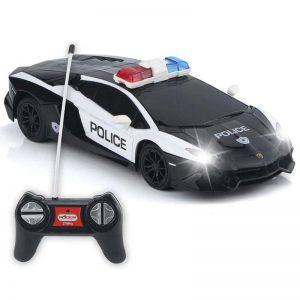 خرید اسباب بازی ماشین کنترلی پلیس لامبورگینی ارزان