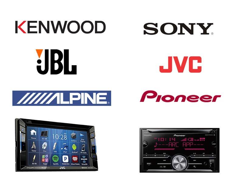 بهترین برند های تولید کننده پخش دودین خودرو