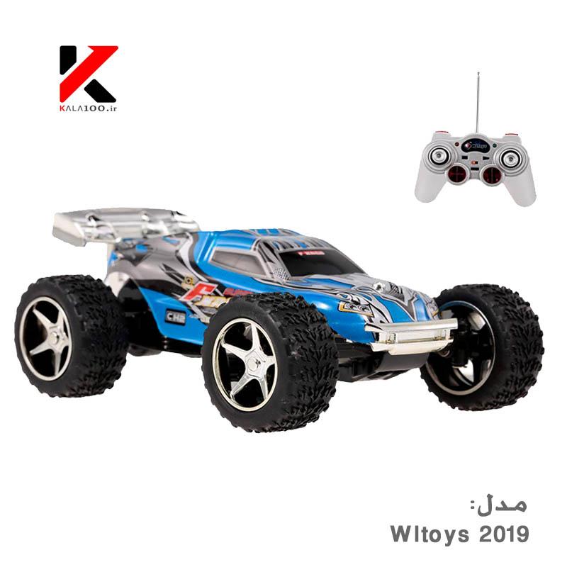خرید ماشین کنترلی اسباب بازی حرفه ای سرعتی شارژی ارزان Wltoys 2019 Off-Road RC Car