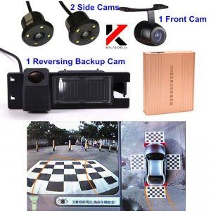 دوربین 360 Degree وسیله نقلیه HDMEU