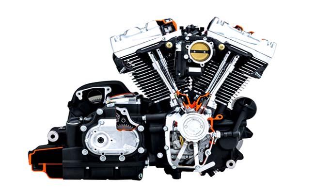 انجین موتورسیکلت هارلی Milwaukee-Eight Big Twin سری 107