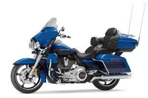 موتور سنگین رنگ آبی نوع تورینگ