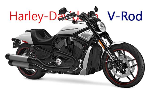 موتورسیکلت هارلی 2017 Harley-Davidson V-Rod رنگ سفید