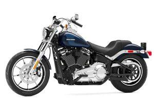 موتورسیکلت هارلی 2020 LOW RIDER رنگ آبی زیبا