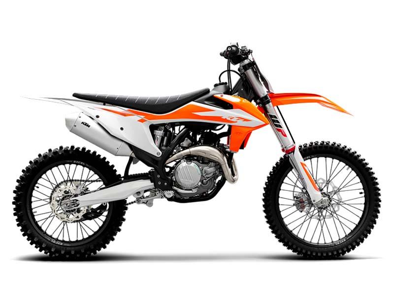 موتورسیکلت کی تی ام SXF450 ویژه مسابقات آفرود و پرش