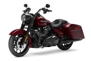 HD Road King Special Model 2020 with leather seat