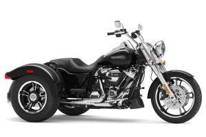 موتور سه چرخ مشکی امریکایی هارلی Freewheeler 2020 Trike Motorcycle by Harley Davidson