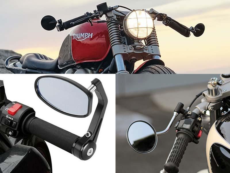 تصاویر آینه موتورسیکلت کافه ریسر