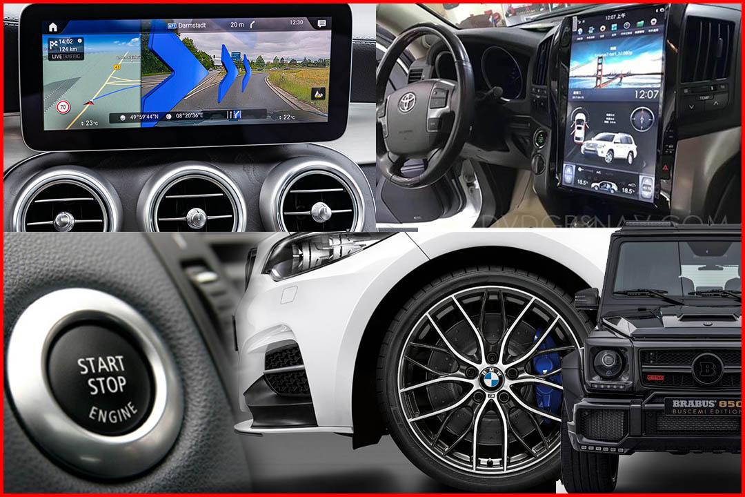 автомобильный аксессуар и монитор android