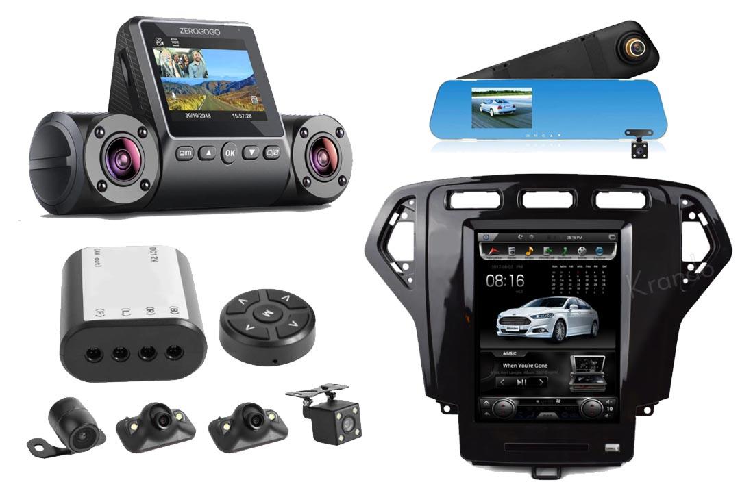 مانیتور و دوربین ماشین