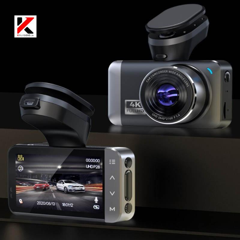 دو عدد دوربین دی امنیتی ماشین با پس زمینه سیاه مدل D530