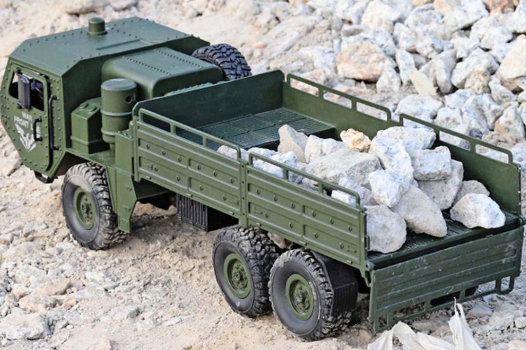 خرید کامیون کنترلی نظامی حرفه ای K6