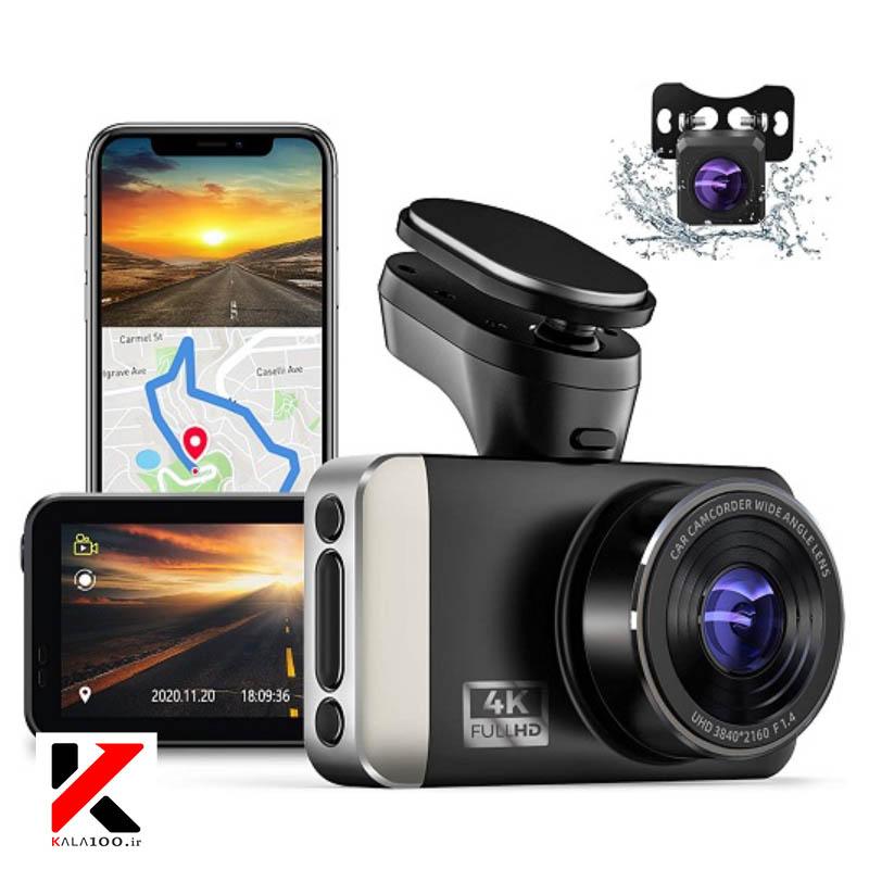 نمایندگی فروش دوربین داشبوردی در شیراز برند JOMISE 4K Dash Cam