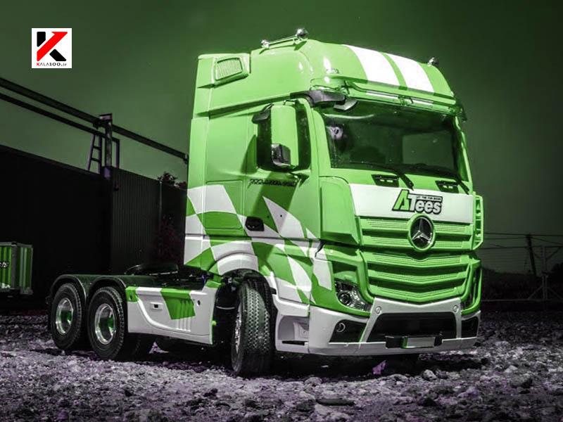 ماشین سنگین کنترلی شارژی بنز سبز هرکولس
