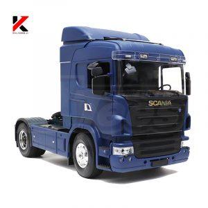 کامیون اسکانیا کنترلی شارژی برند هرکولس آبی
